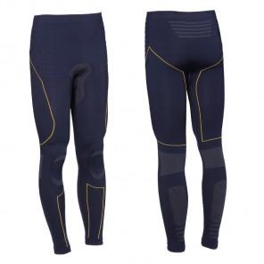 TECH 2 BASE LAYER PANTS Blue/Yellow
