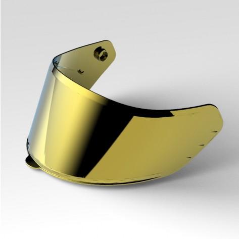 VISIERA NOS NS-10 Mirror Gold