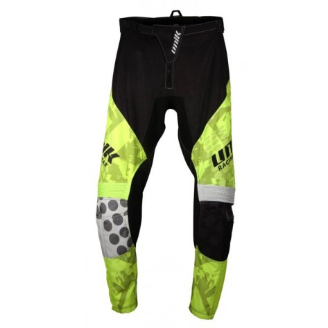 PANTALONE CROSS UNIK MX-01 Black/ Yellow Fluo