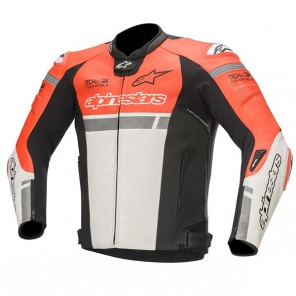 GIACCA ALPINESTARS MISSILE IGNITION Red Fluo/White/Black