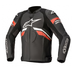 GIACCA ALPINESTARS GP PLUS R V3 RK Black/White/Bright Red