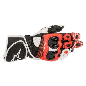 GUANTO ALPINESTARS GP PLUS R V2 Black/White/Bright Red